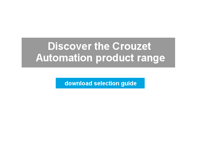 crouzet automation product range